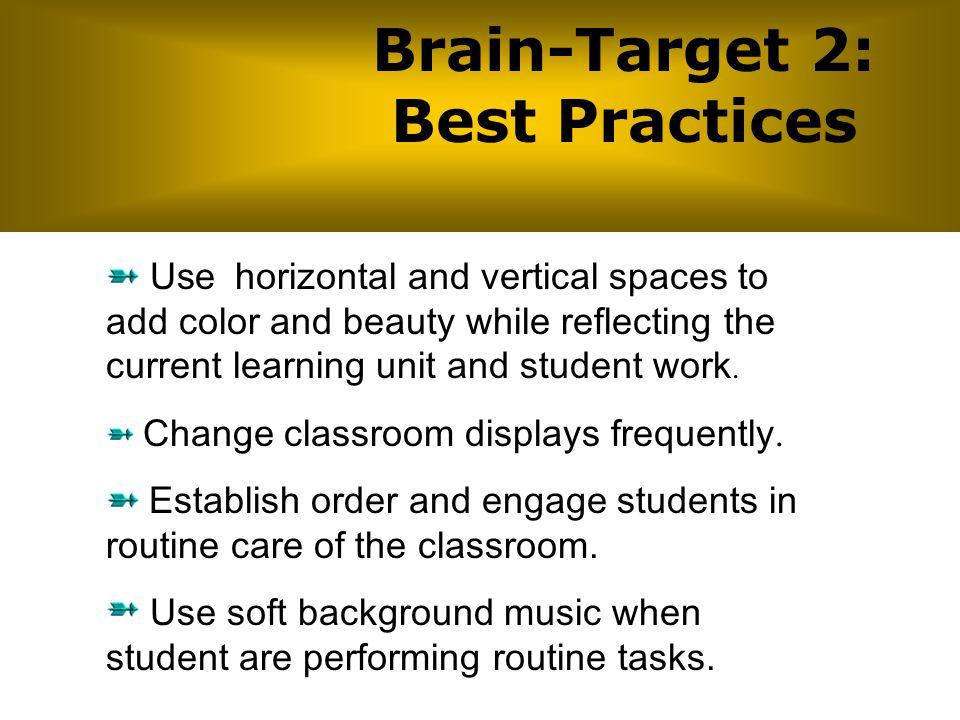 Brain-Target 2: Best Practices