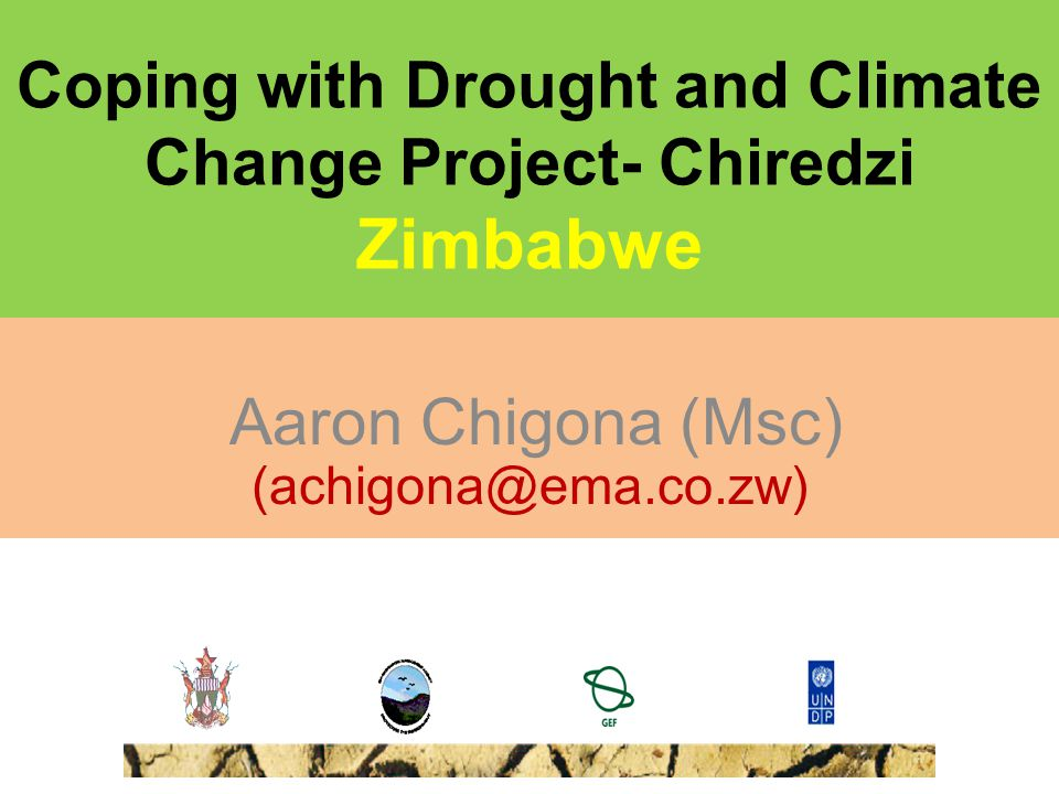 Coping with Drought and Climate Change Project- Chiredzi Zimbabwe