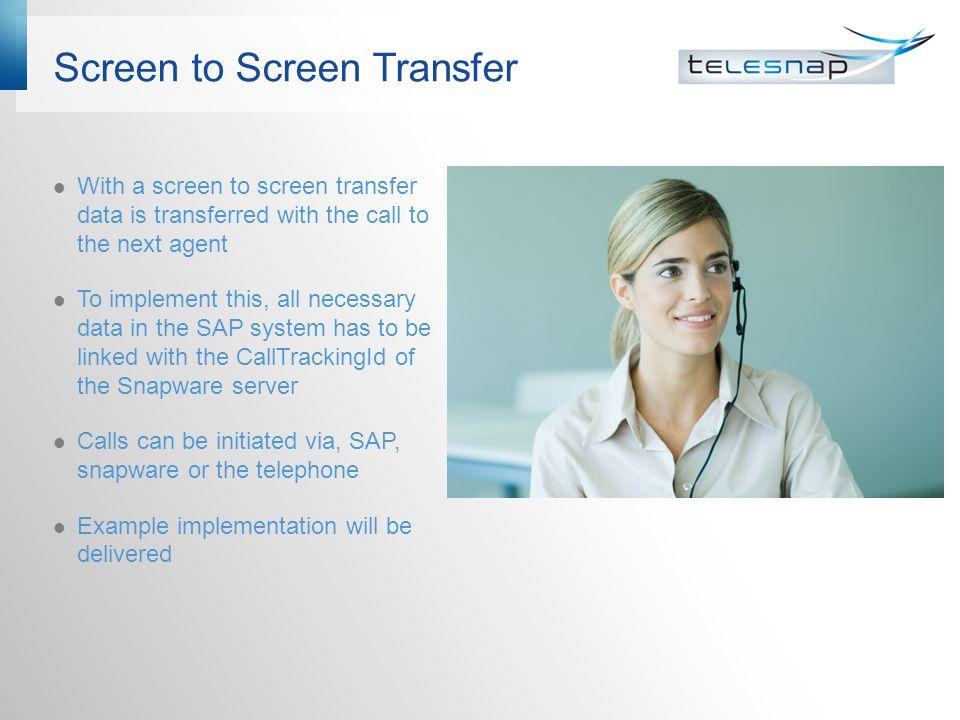 Screen to Screen Transfer