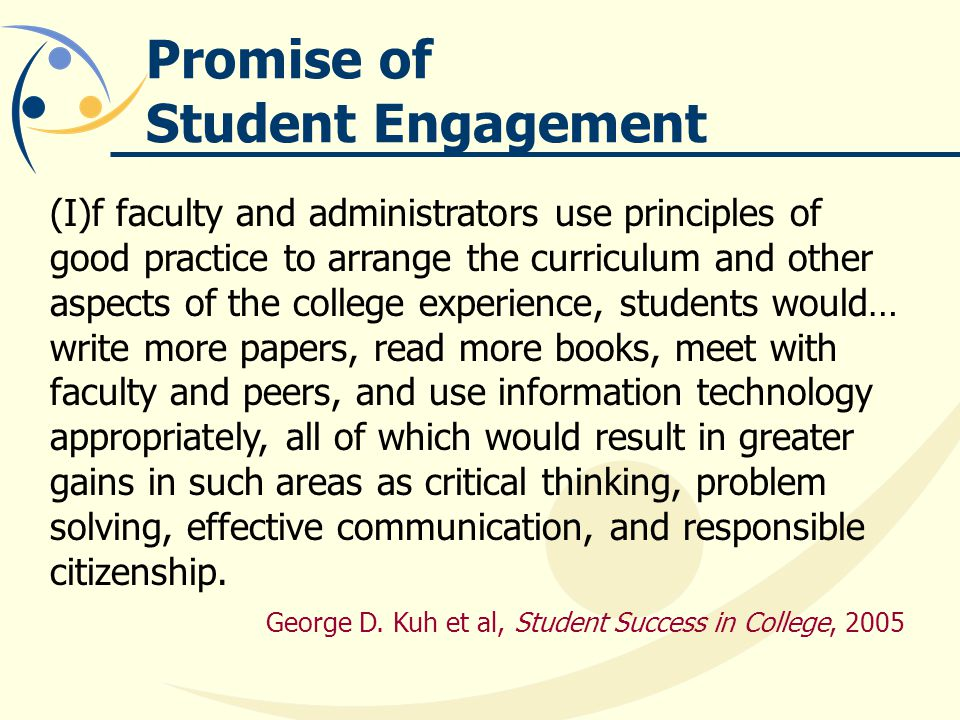 Promise of Student Engagement
