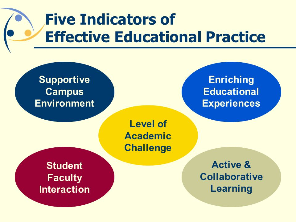 Five Indicators of Effective Educational Practice