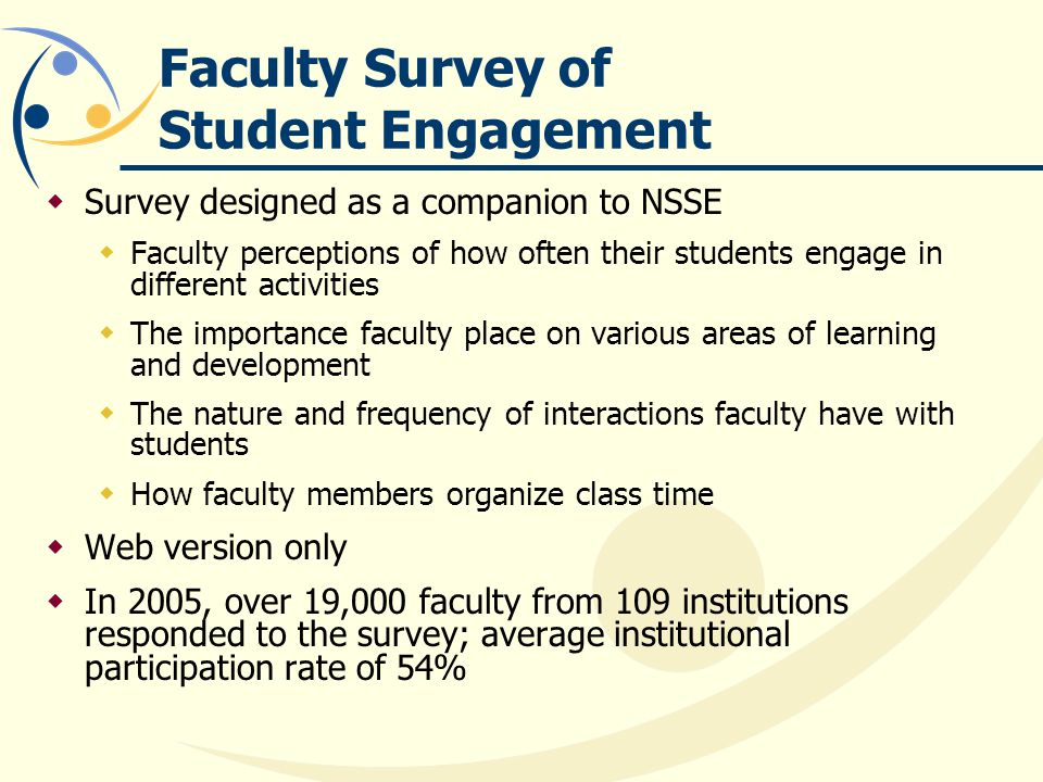 Faculty Survey of Student Engagement