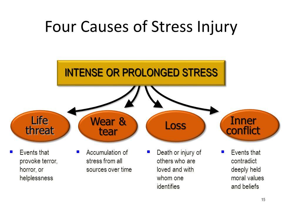 Four Causes of Stress Injury