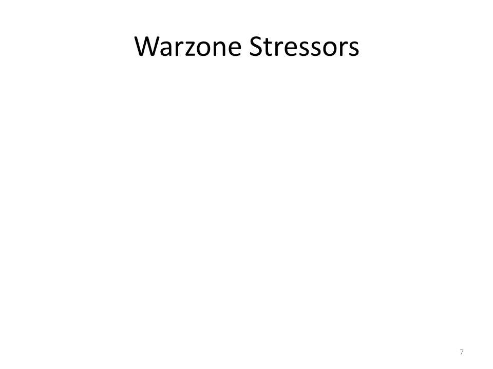 Warzone Stressors