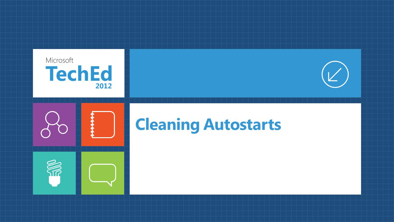 Cleaning Autostarts