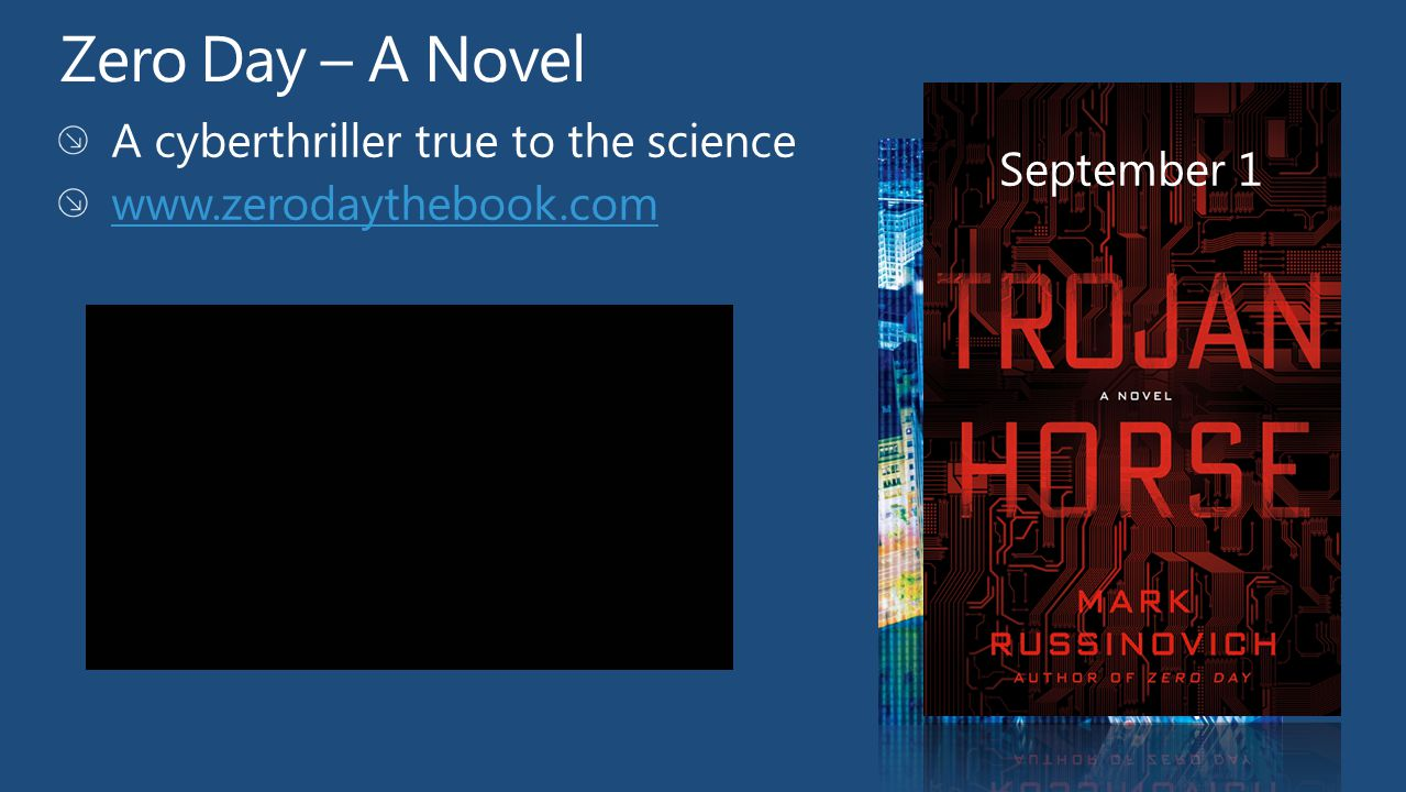 Zero Day – A Novel A cyberthriller true to the science September 1