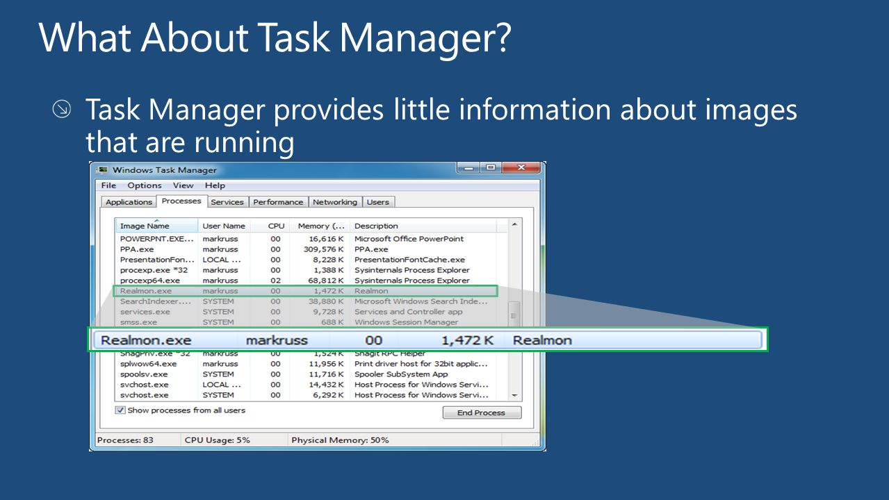 What About Task Manager