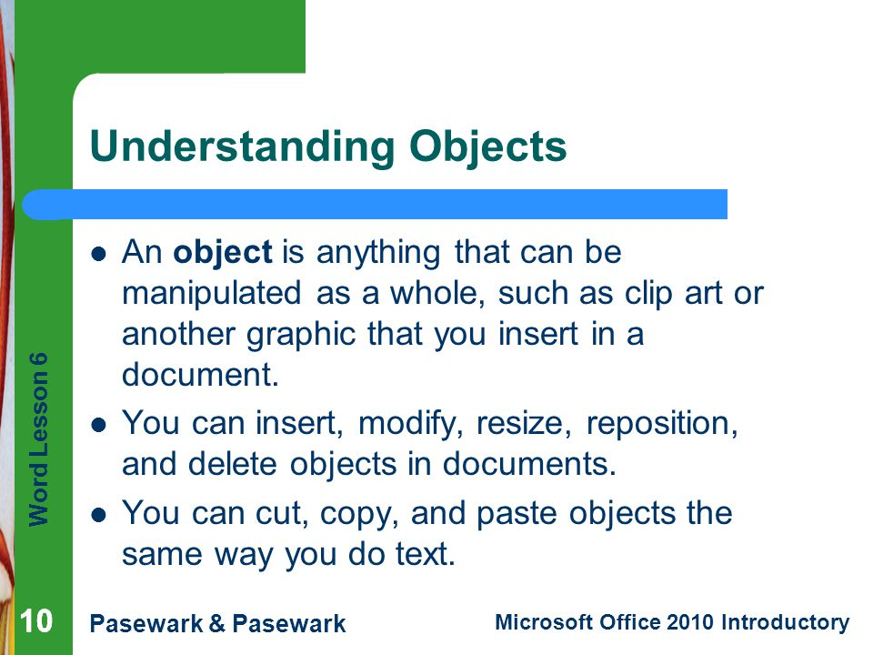 Understanding Objects