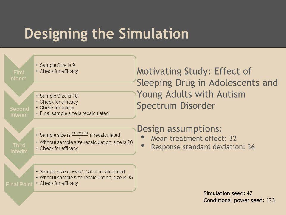 Designing the Simulation