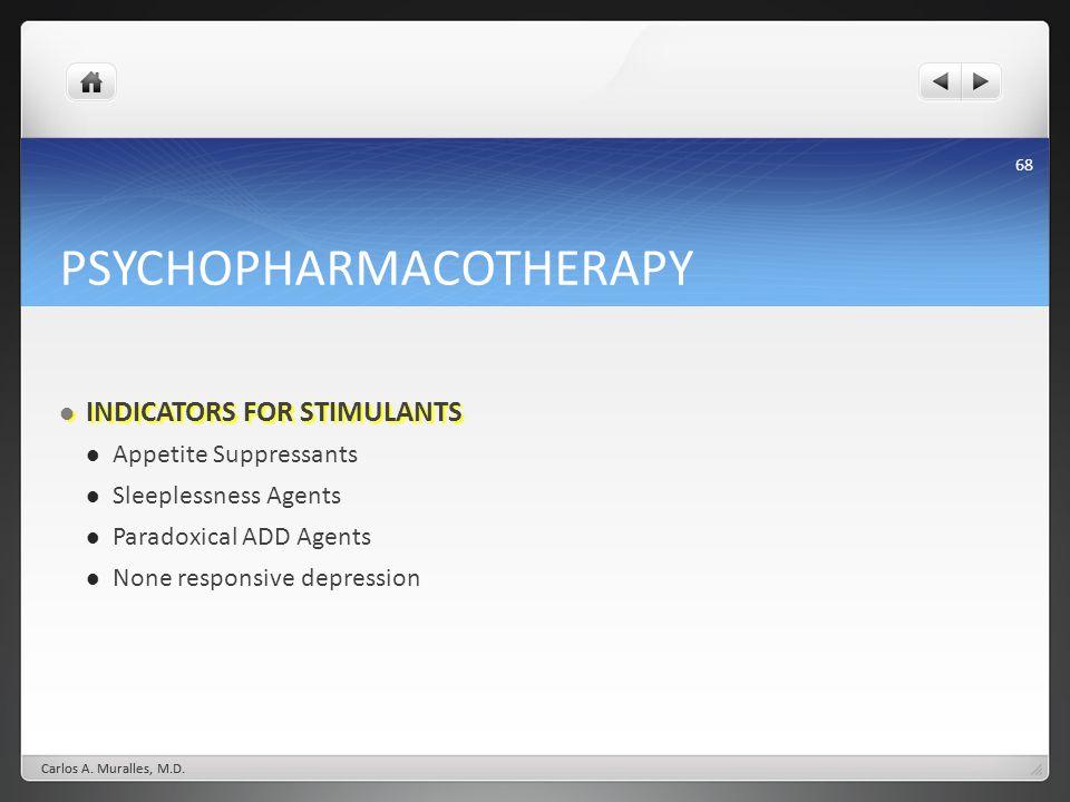 PSYCHOPHARMACOTHERAPY