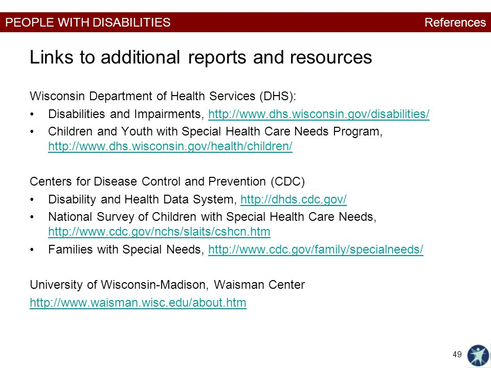 Links to additional reports and resources