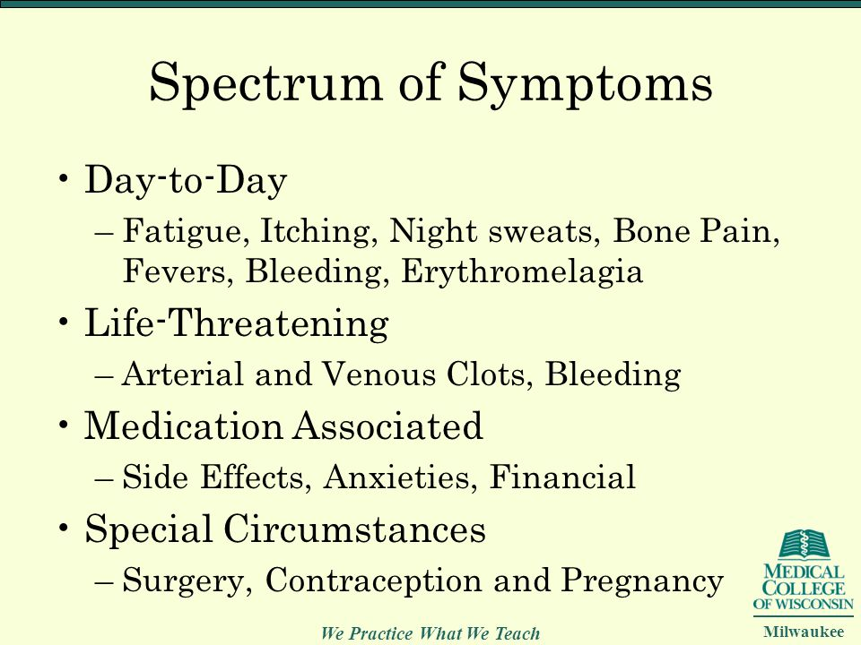 Spectrum of Symptoms Day-to-Day Life-Threatening Medication Associated