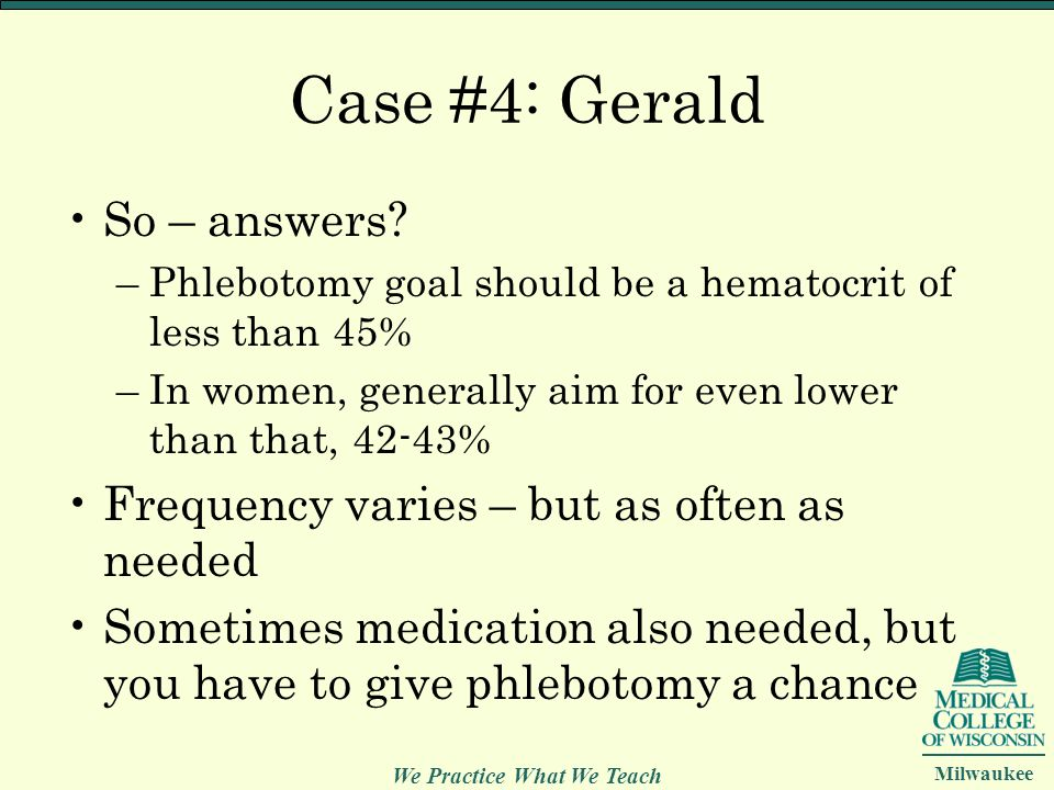 Case #4: Gerald So – answers