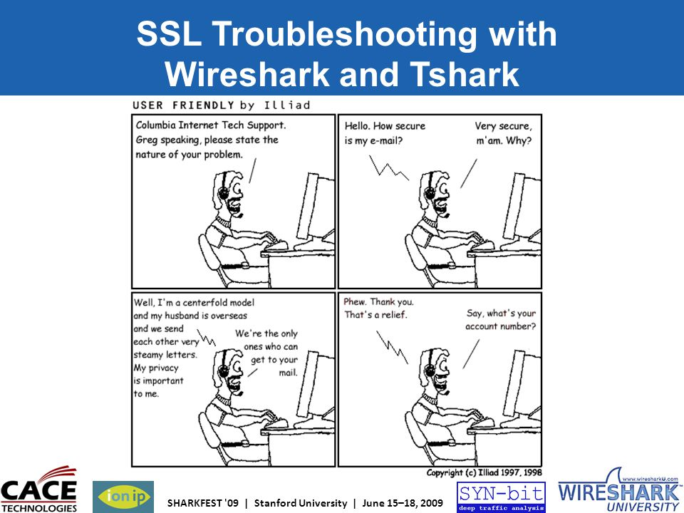 SSL Troubleshooting with Wireshark and Tshark