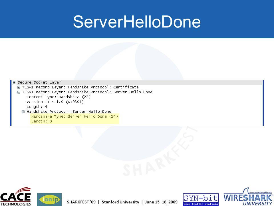 ServerHelloDone