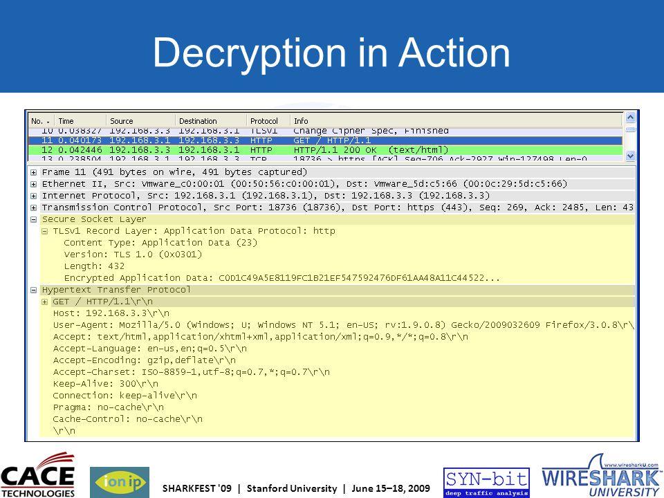 Decryption in Action