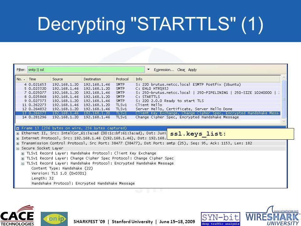 Decrypting STARTTLS (1)