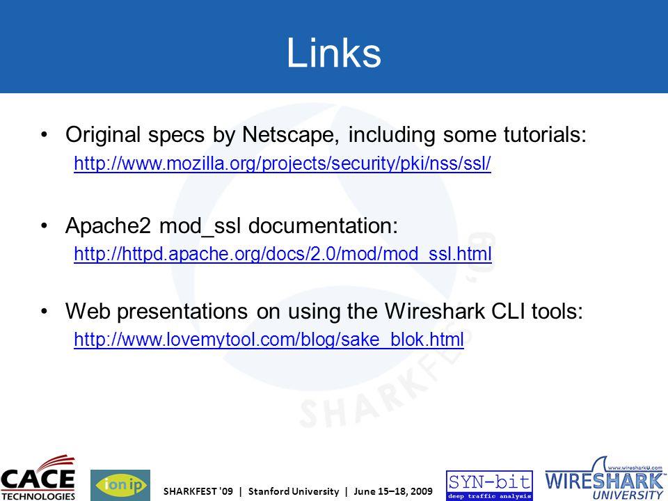 Links Original specs by Netscape, including some tutorials: