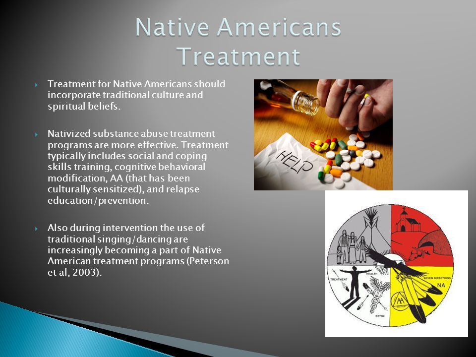 Native Americans Treatment