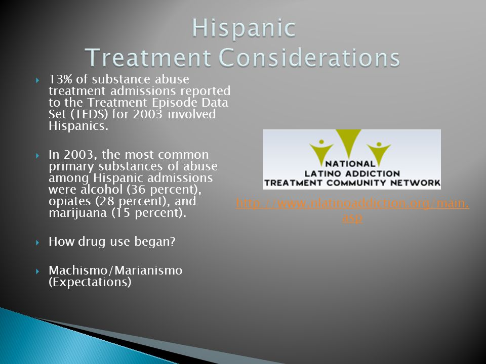 Hispanic Treatment Considerations