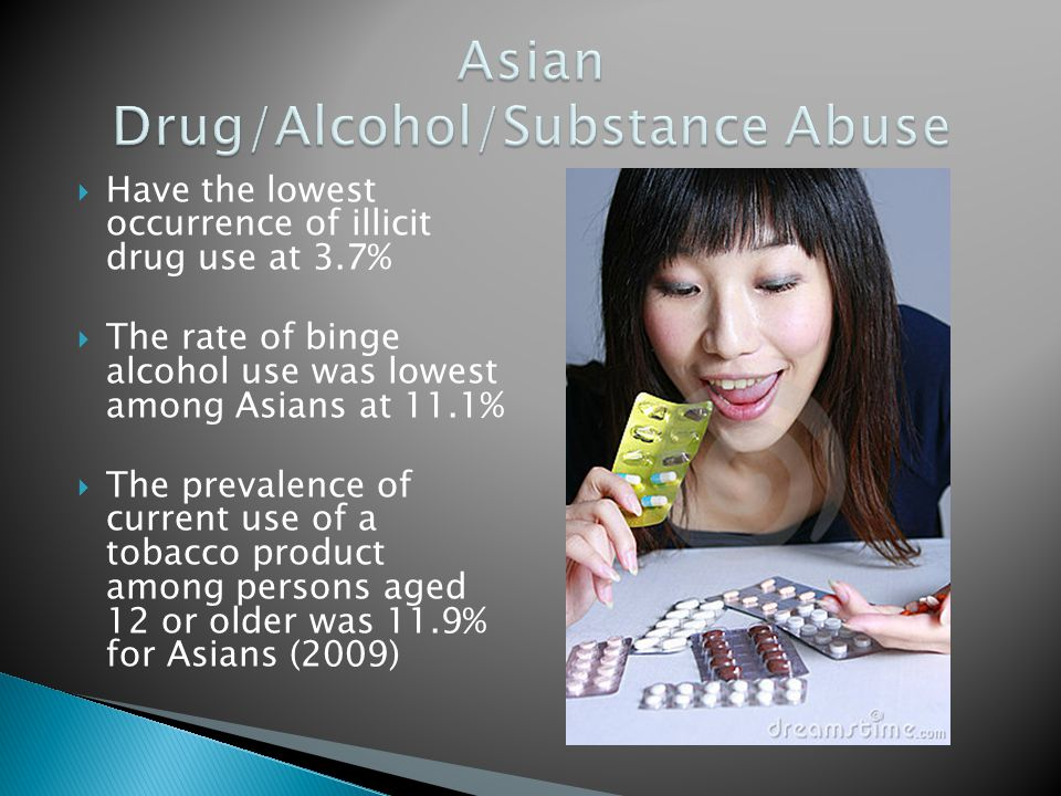 Asian Drug/Alcohol/Substance Abuse