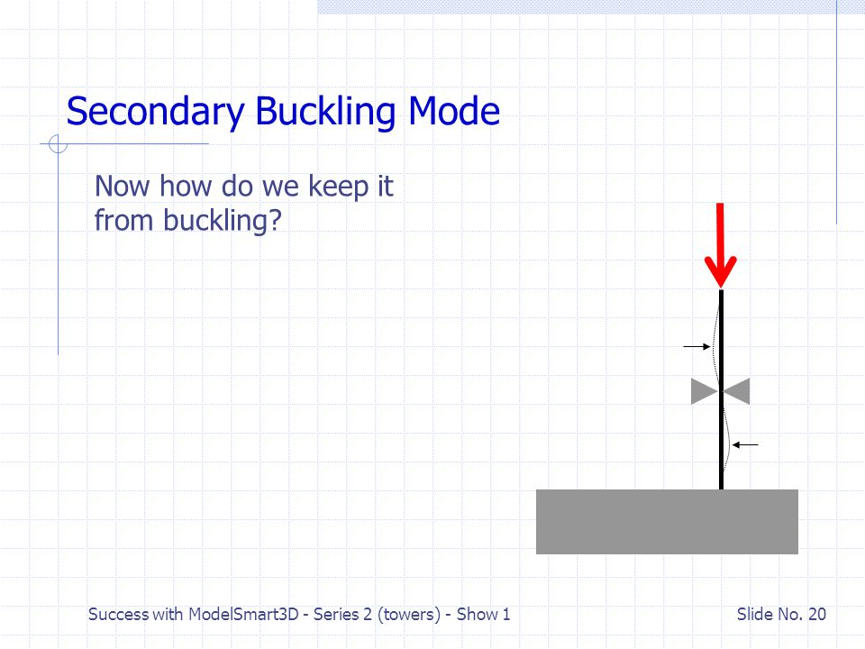 Secondary Buckling Mode