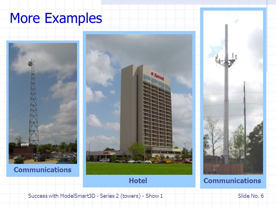 More Examples Communications Hotel Communications
