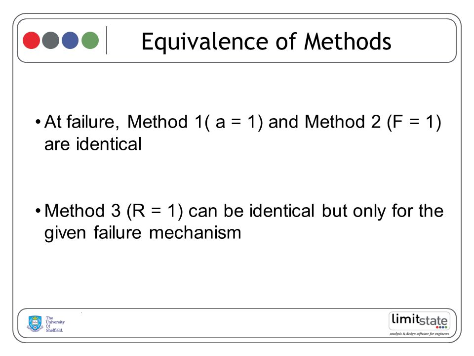 Equivalence of Methods