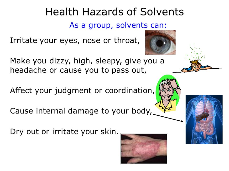 Health Hazards of Solvents