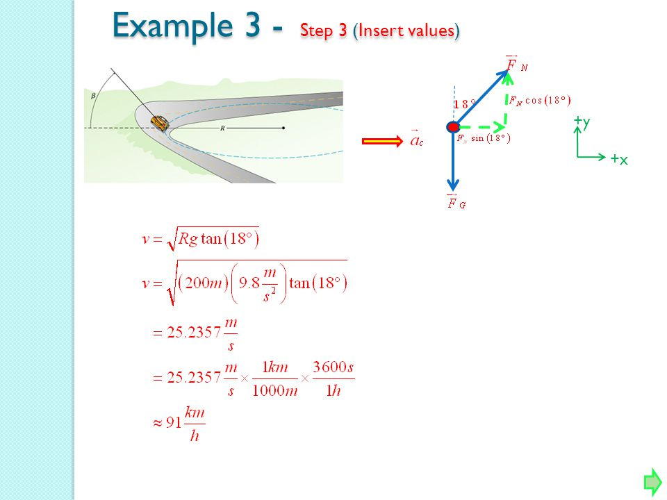 Example 3 - Step 3 (Insert values)