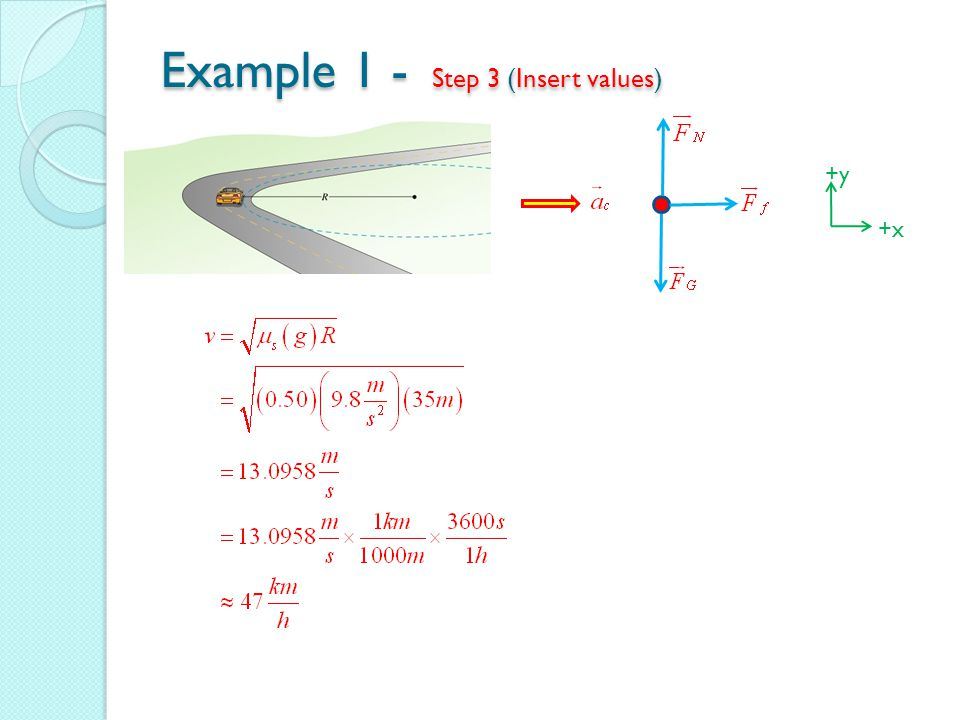 Example 1 - Step 3 (Insert values)