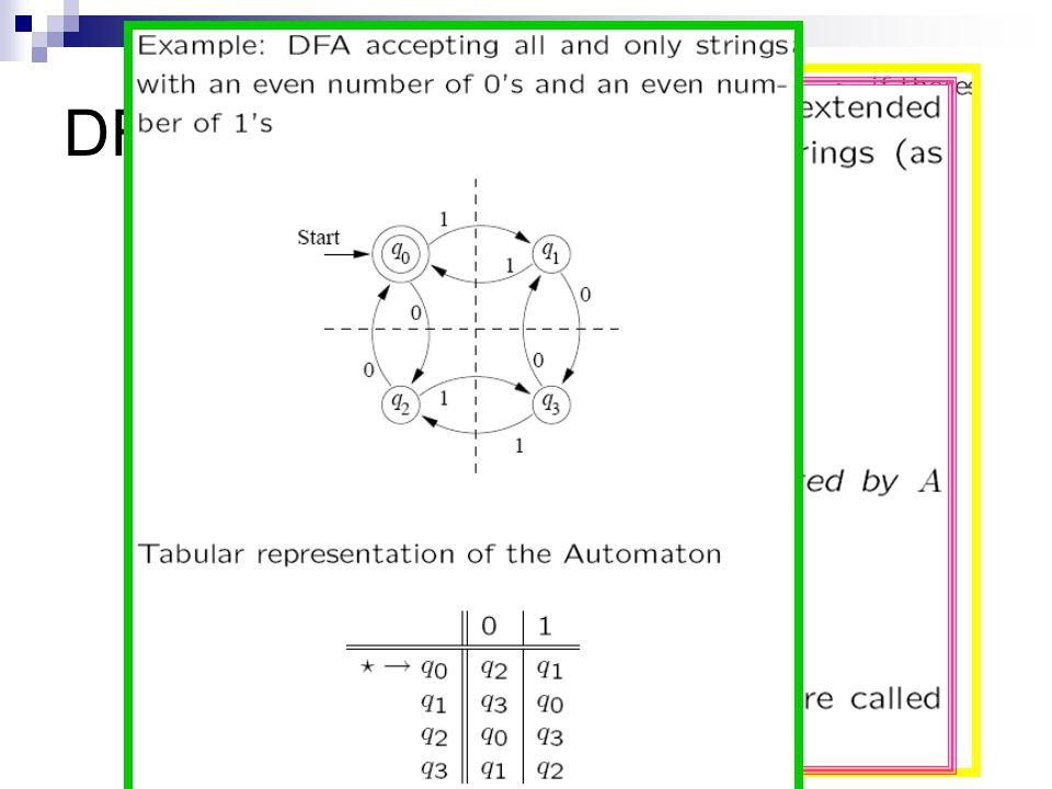 DFA More examples