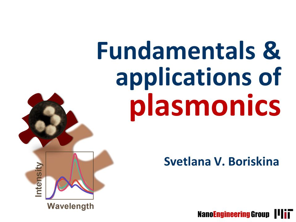 Fundamentals & applications of plasmonics