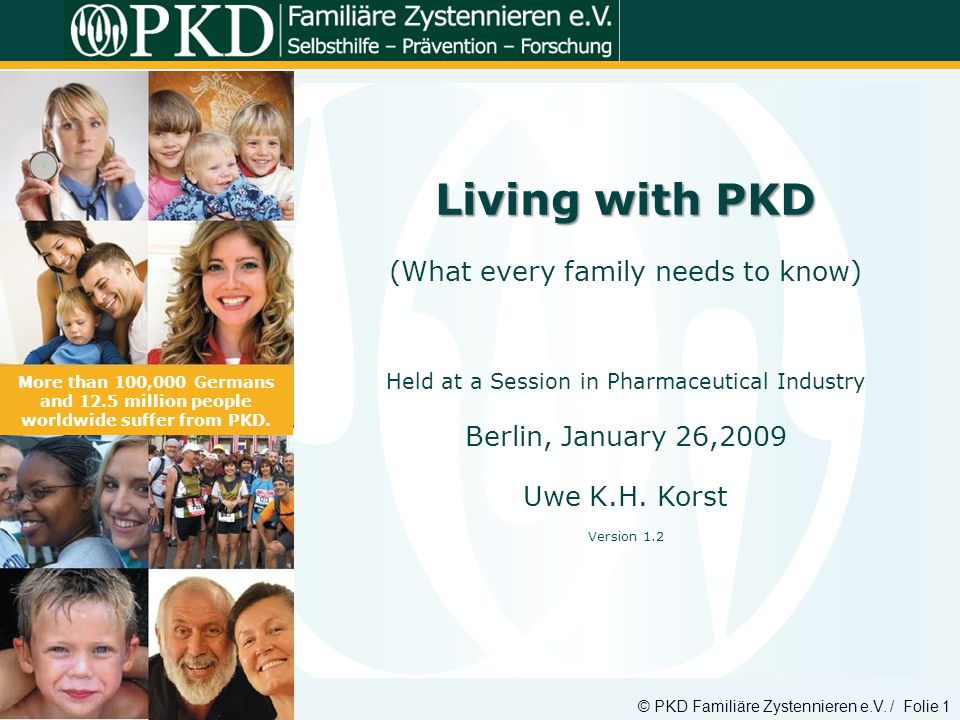 Living with PKD (What every family needs to know)