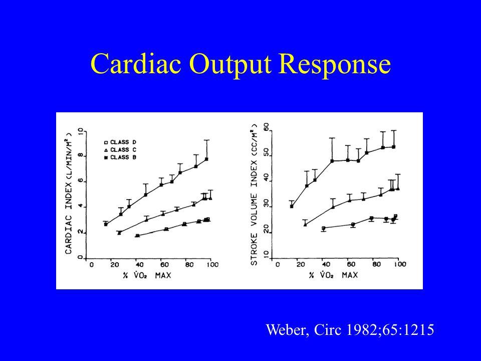 Cardiac Output Response