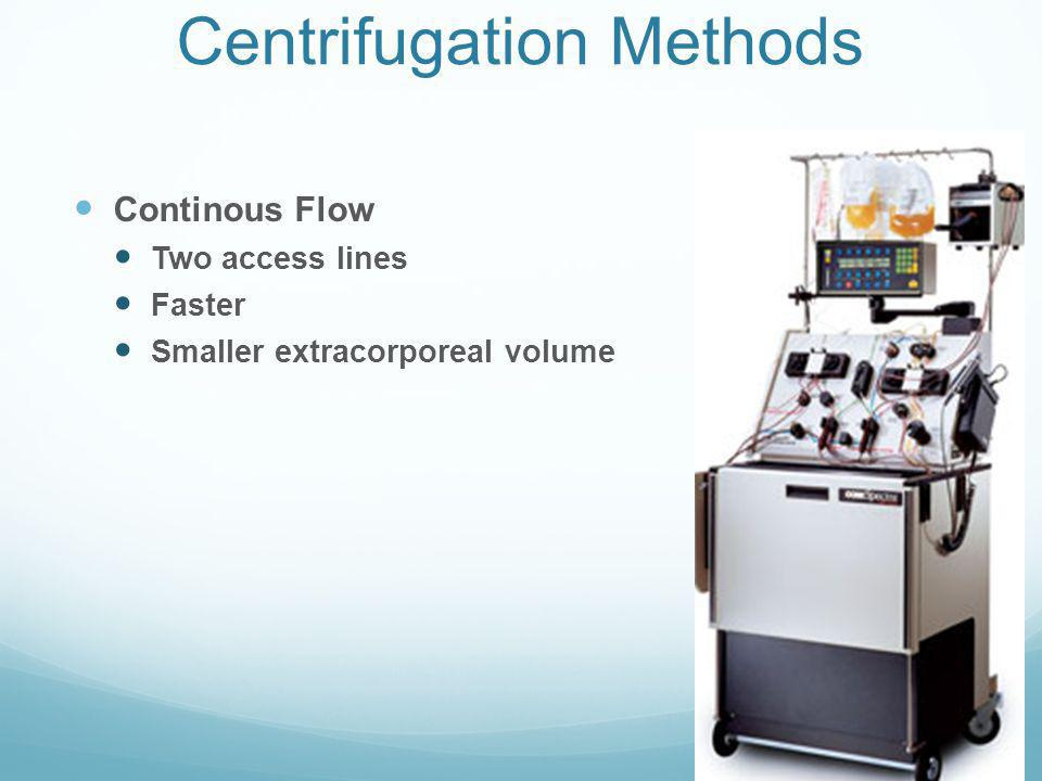 Centrifugation Methods