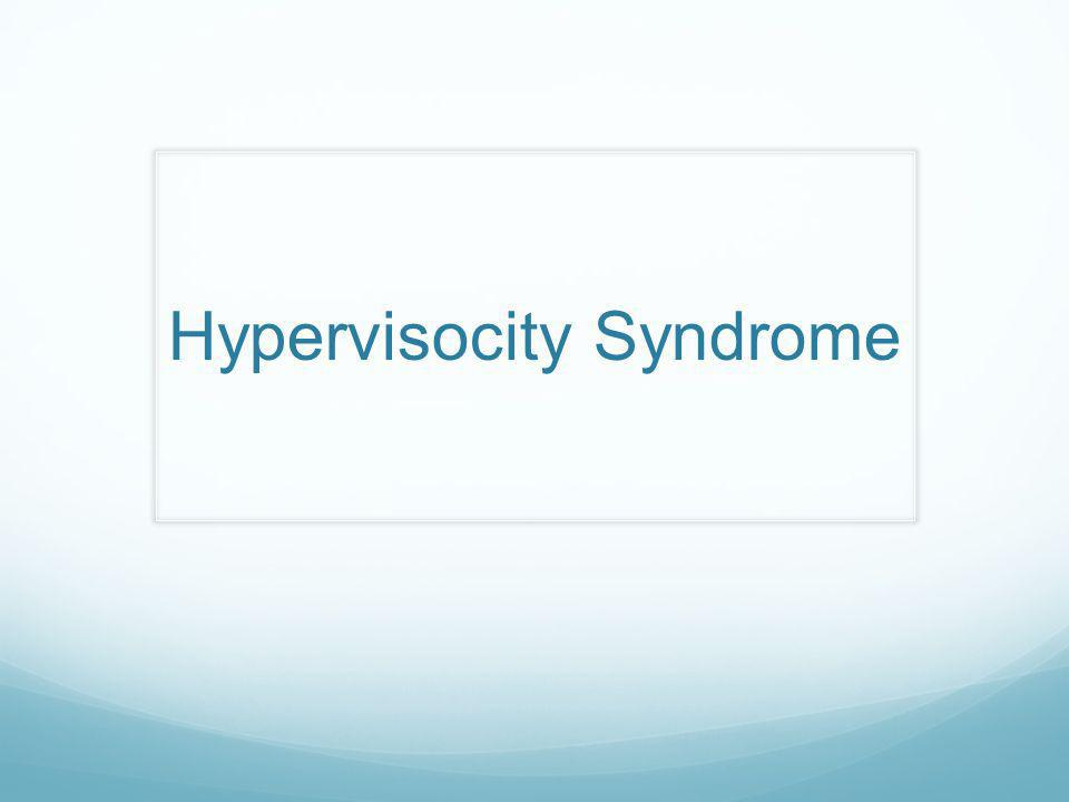 Hypervisocity Syndrome