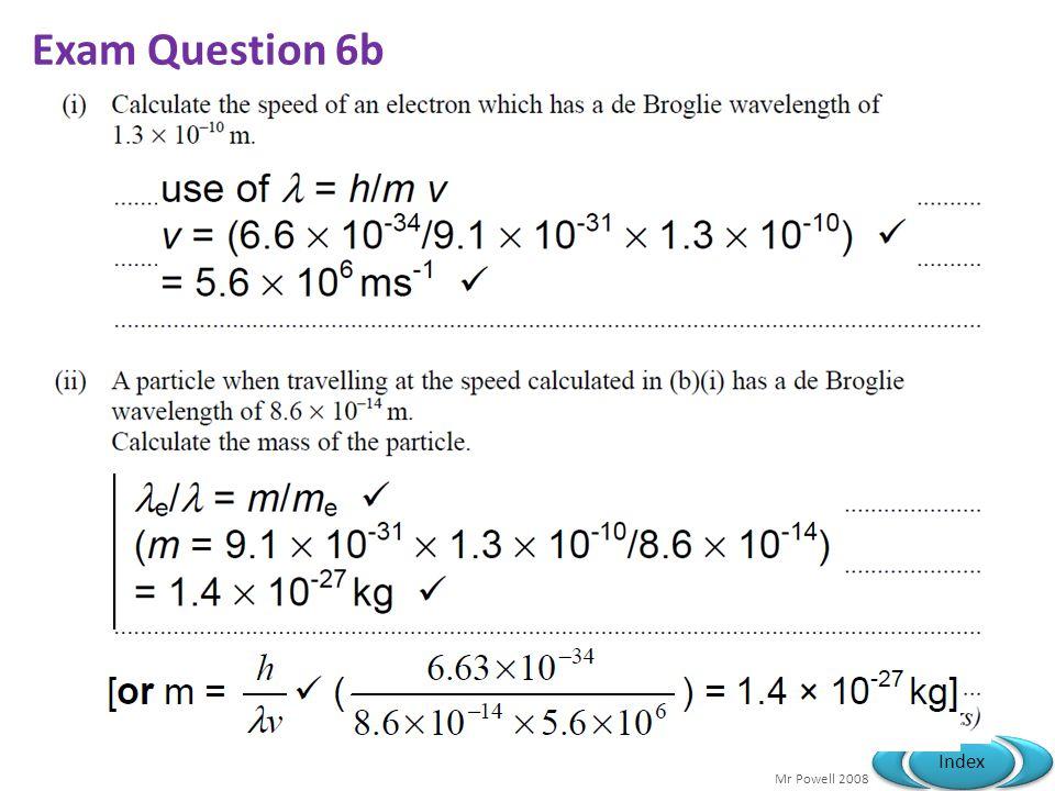 Exam Question 6b