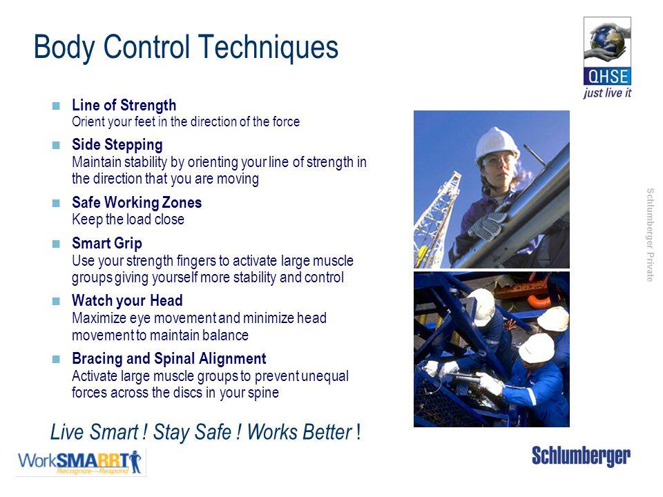 Body Control Techniques