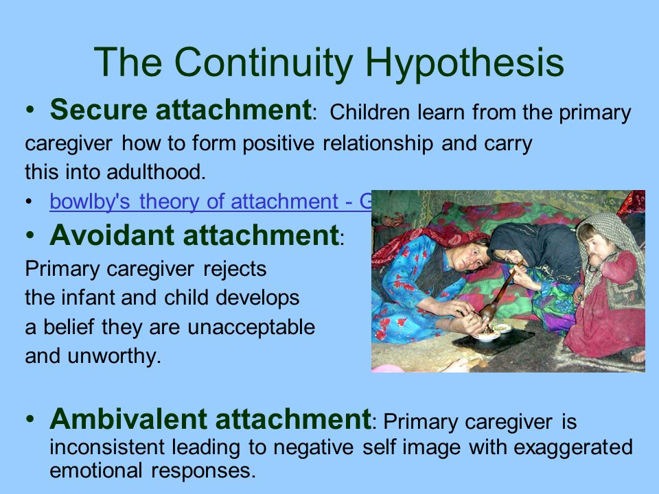 relationship between the primary caregiver and the infant In infant and toddler care settings  ize aspects of their self/caregiver relationships the models they  support the primary caregiver pro.