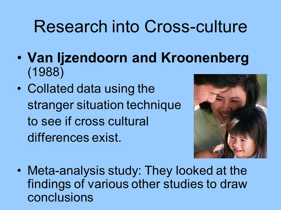 an analysis of cross cultural differences Behavioral and social sciences such as psychology, sociology, management, marketing, and political science witness a steady increase of cross-cultural studies for example, during the last decade there has been a consistently increasing number of psychological studies on cross-cultural similarities and differences (van.