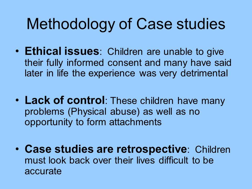 Methodology of Case studies