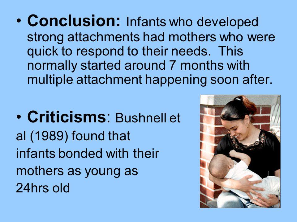 Criticisms: Bushnell et
