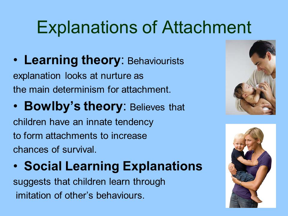 Explanations of Attachment