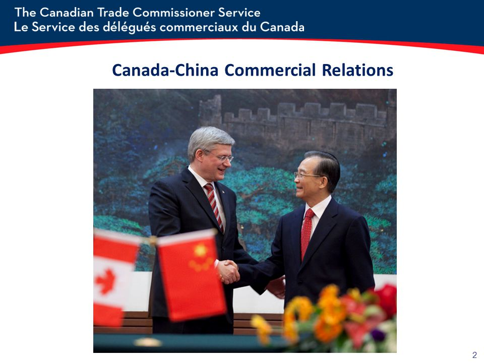 Canada-China Commercial Relations