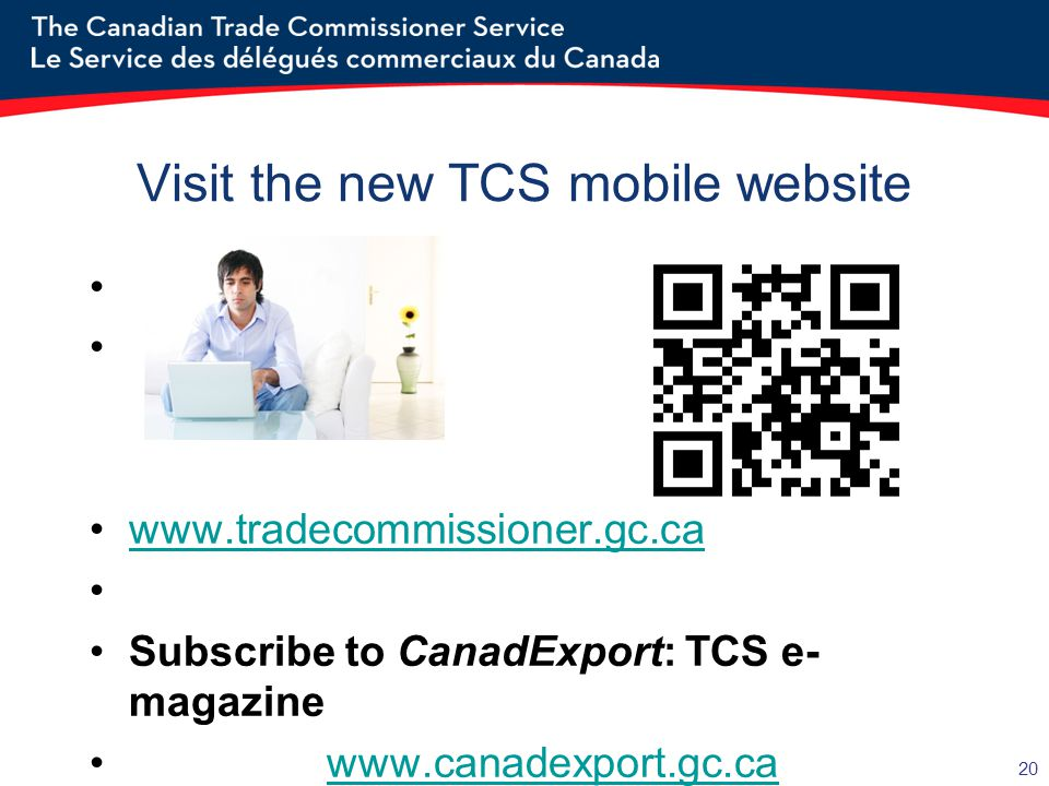 Visit the new TCS mobile website