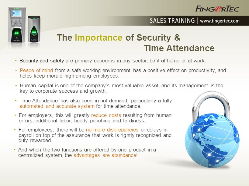The Importance of Security & Time Attendance