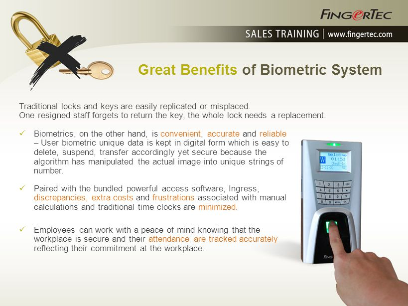Great Benefits of Biometric System