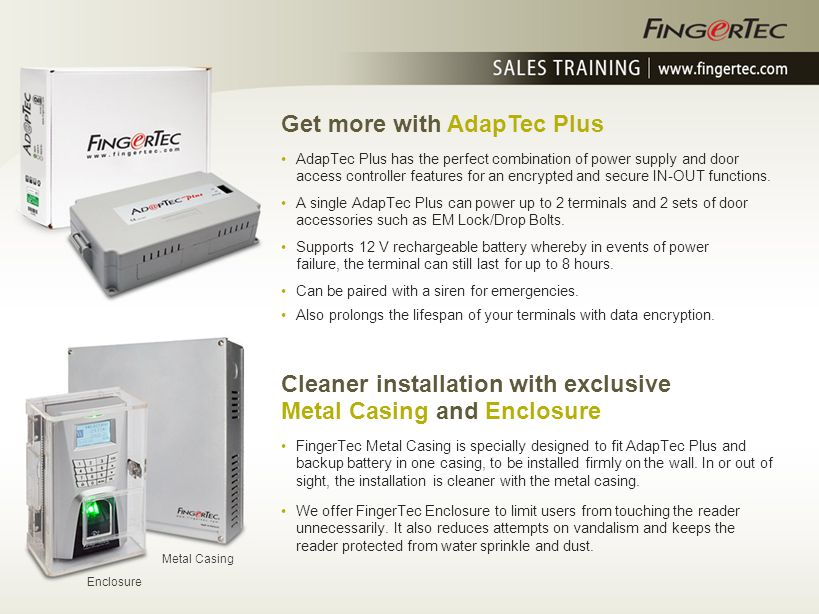 Get more with AdapTec Plus