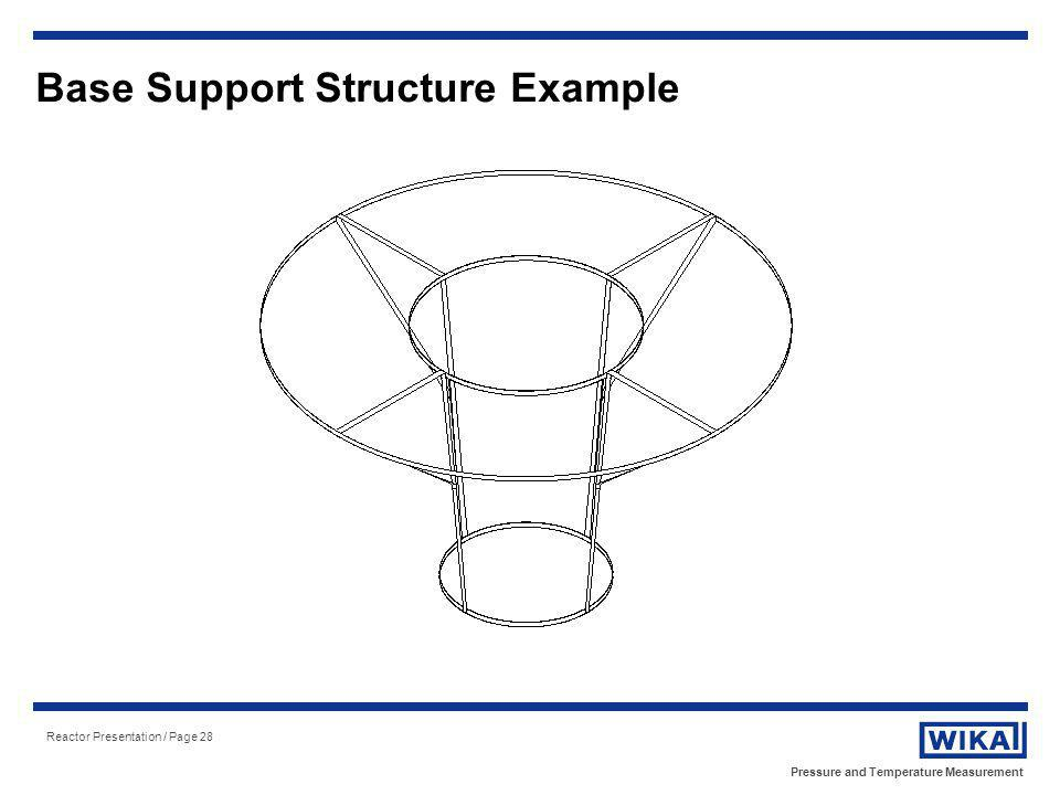 Base Support Structure Example